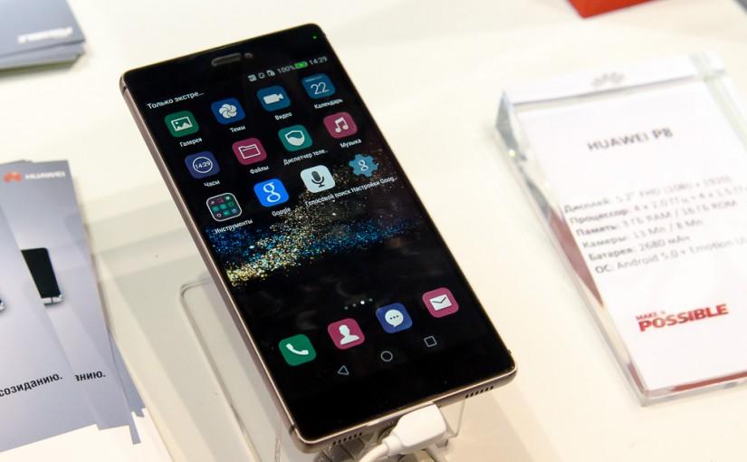 Новый флагманский смартфон Huawei P8