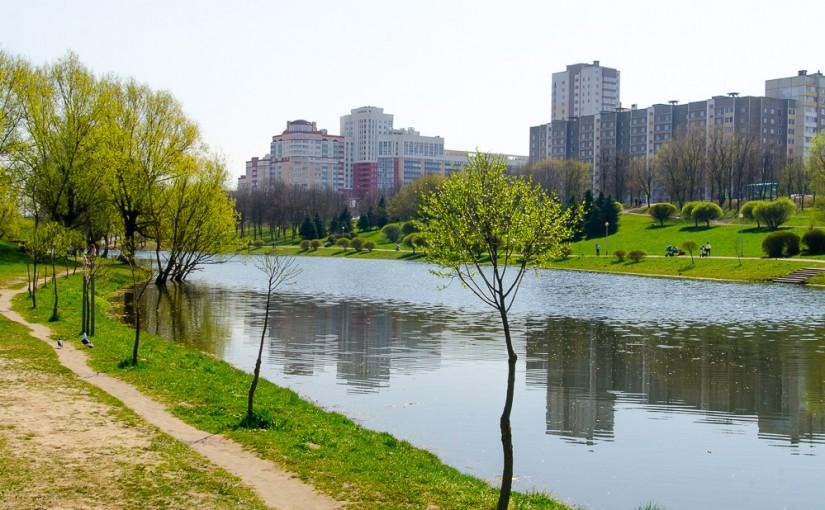 Весна в Минске