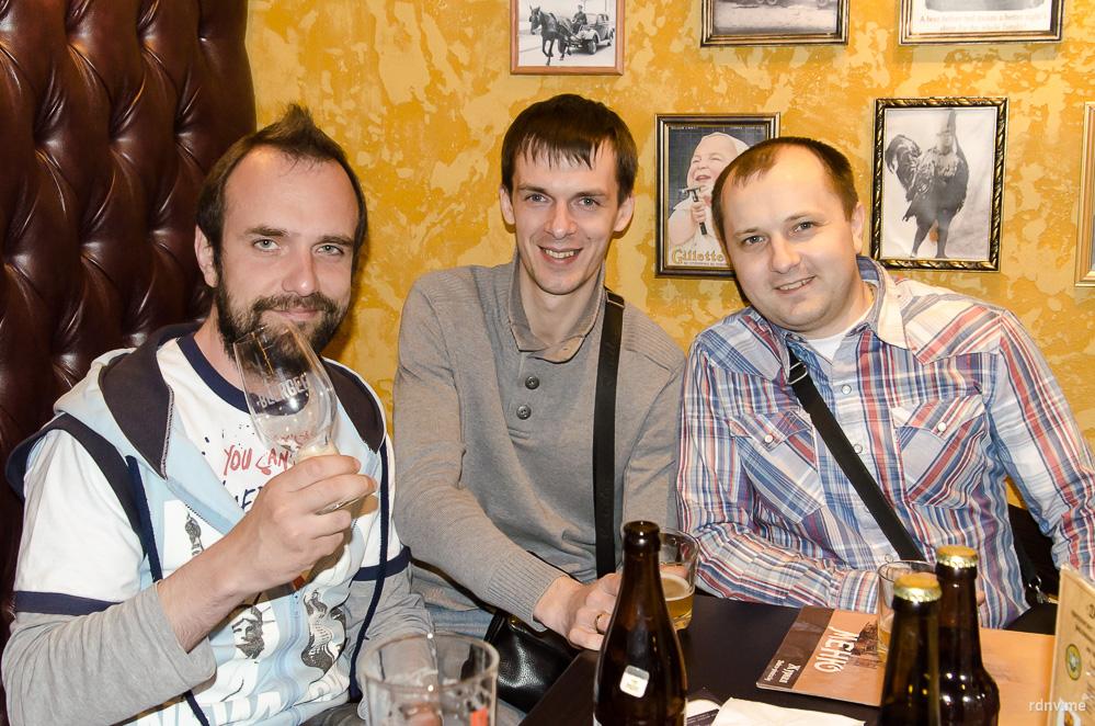 Алексей Фадеенко, Дмитрий Вератинский и Алексей Садовский