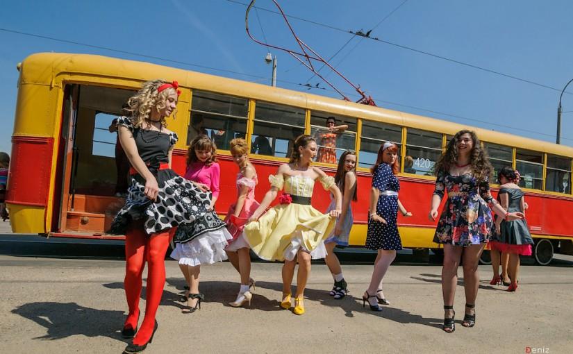 Трамвай в Минске. Фото: Денис Зеленко