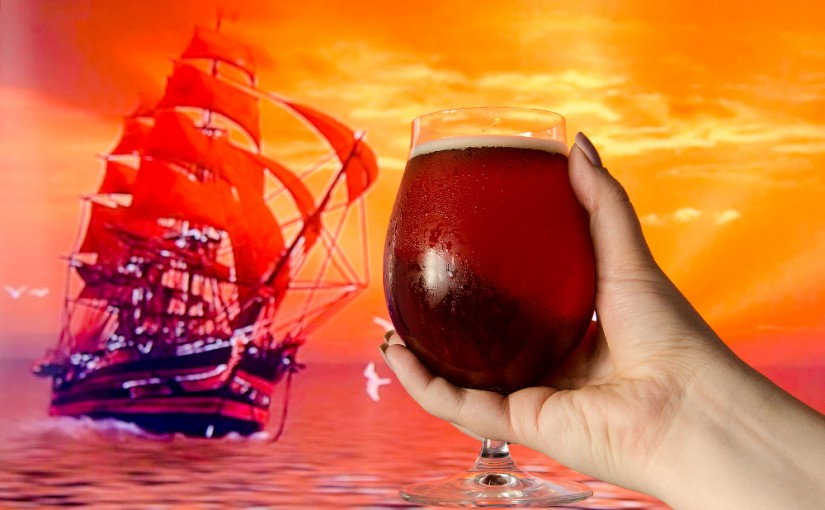 Victory Art Brew Red Sails IPA