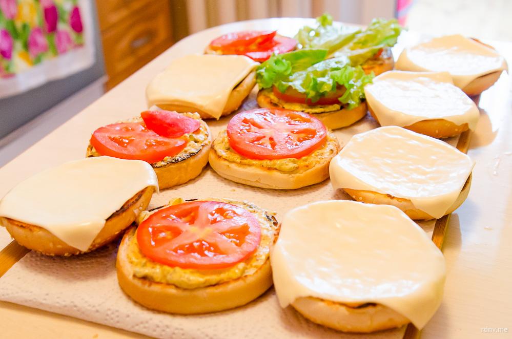 Как сделать гамбургеры рецепт