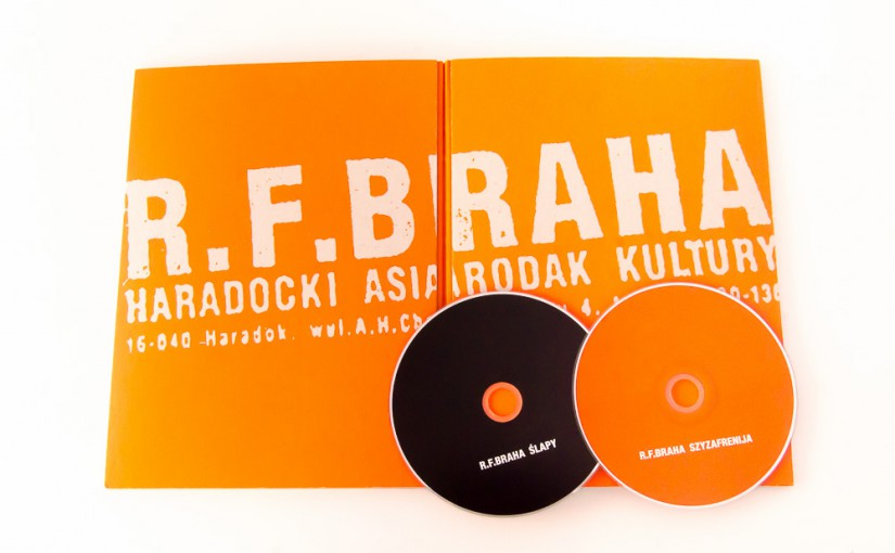 Кніга пра гурт R.F. Braha