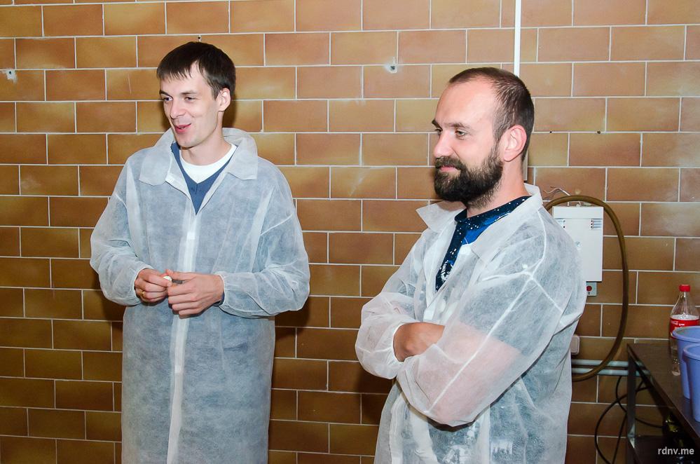 Brew Team в лице Дмитрия Вератинского и Алексея Фадеенко. К сожалению, Алексей Садовский во время моего визита ненадолго отошёл