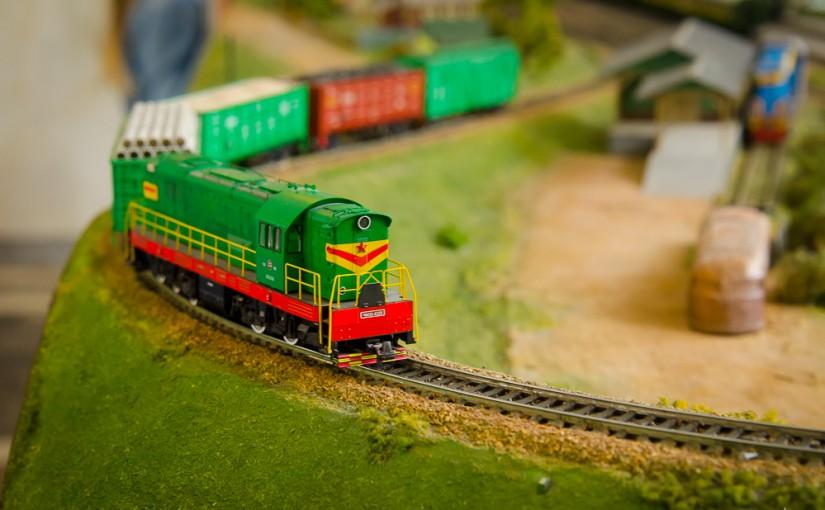 Выставка железнодорожных моделей на Детской железной дороге