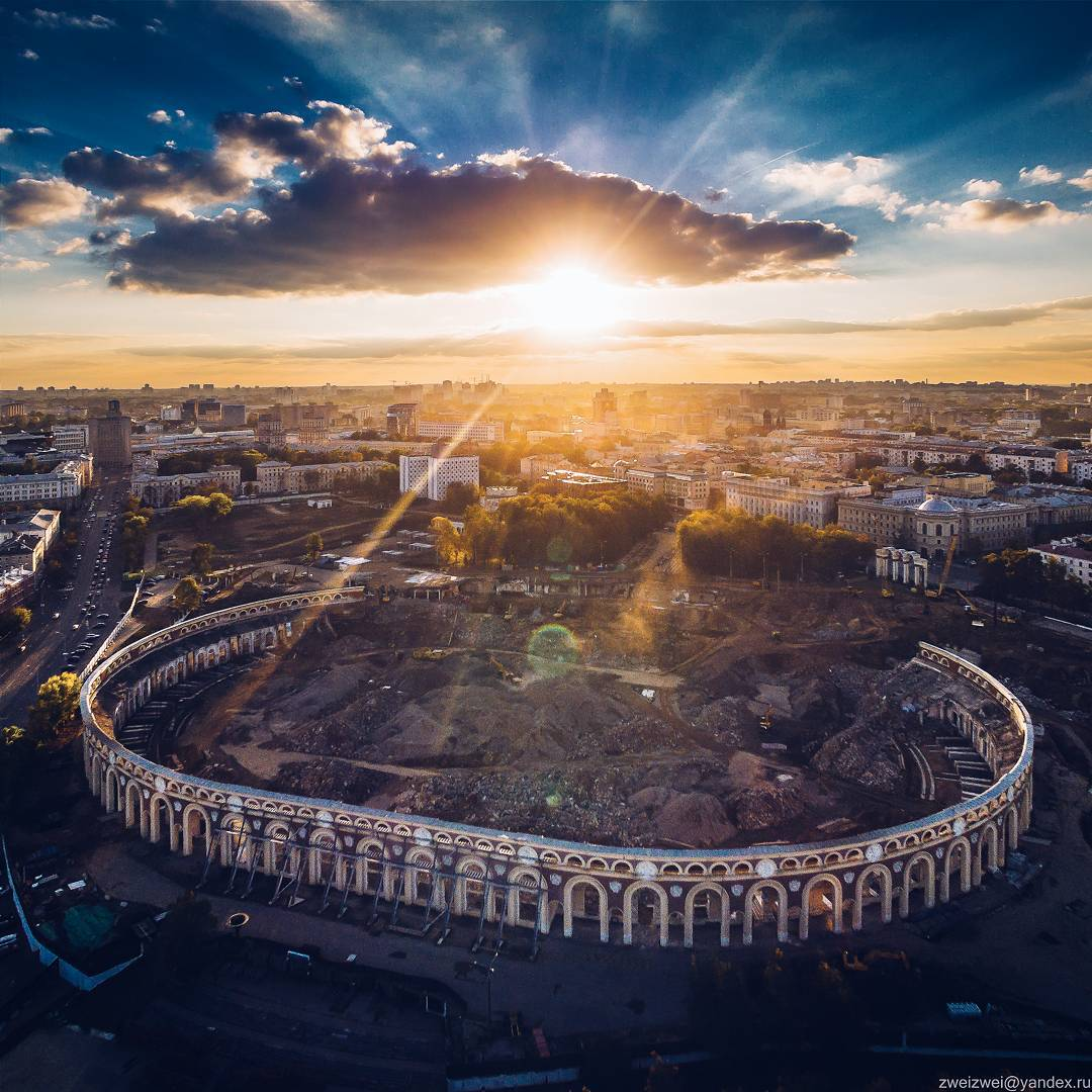 Стадион «Динамо» сейчас. Фото: Artem Pryadko