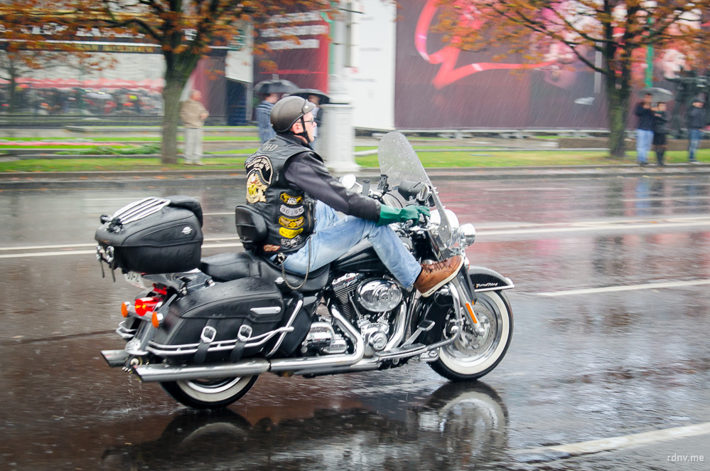 Harley-Davidson. Закрытие мотосезона 2015 в Минске
