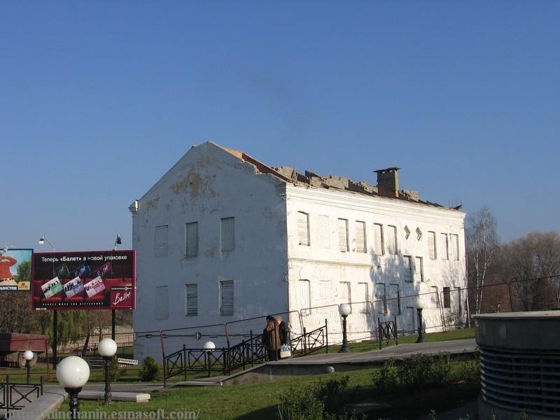 Оригинальное здание по Зыбицкой, 27 за пару дней до сноса. Фото: Вадим Зеленков