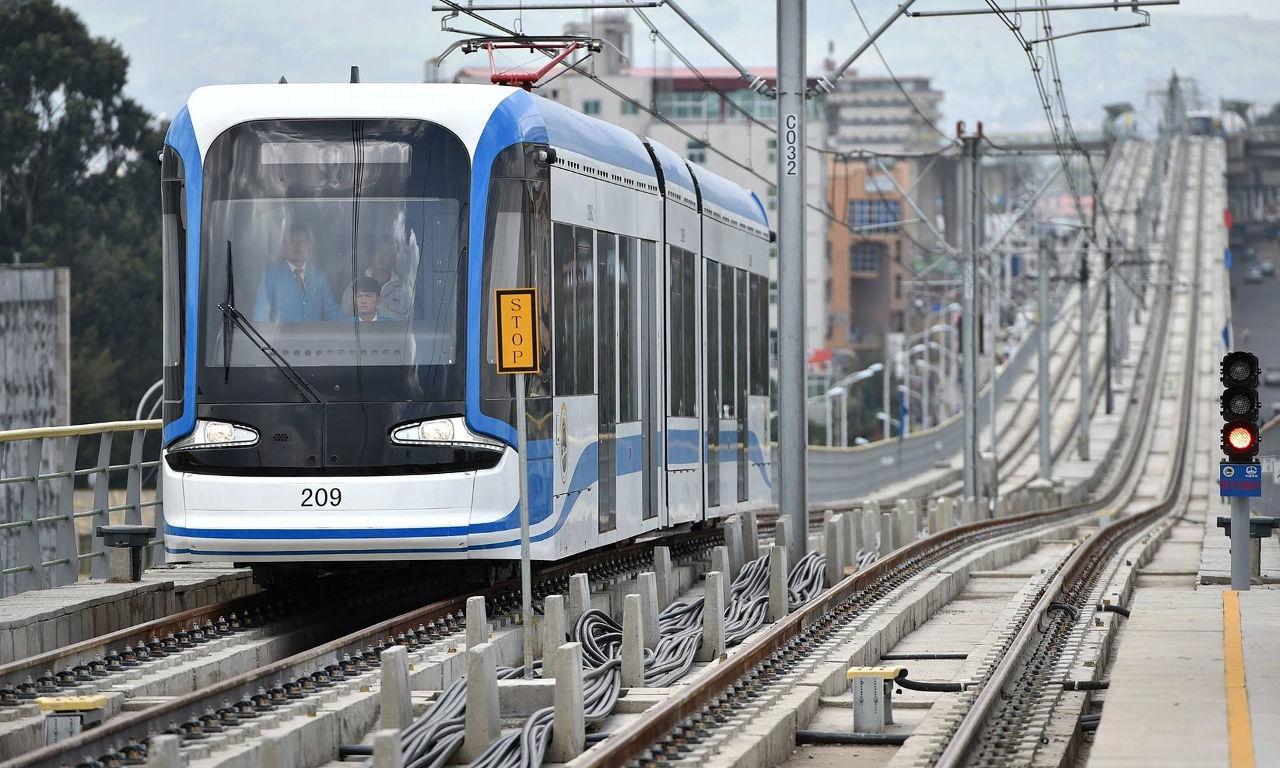 Addis Ababa Light Rail. Фото:  Sun Ruibo/Sun Ruibo/Xinhua Press/Corbis