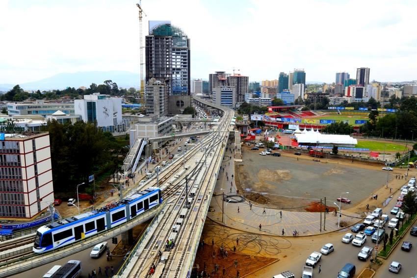 Addis Ababa Light Rail. Фото: Addis fortune