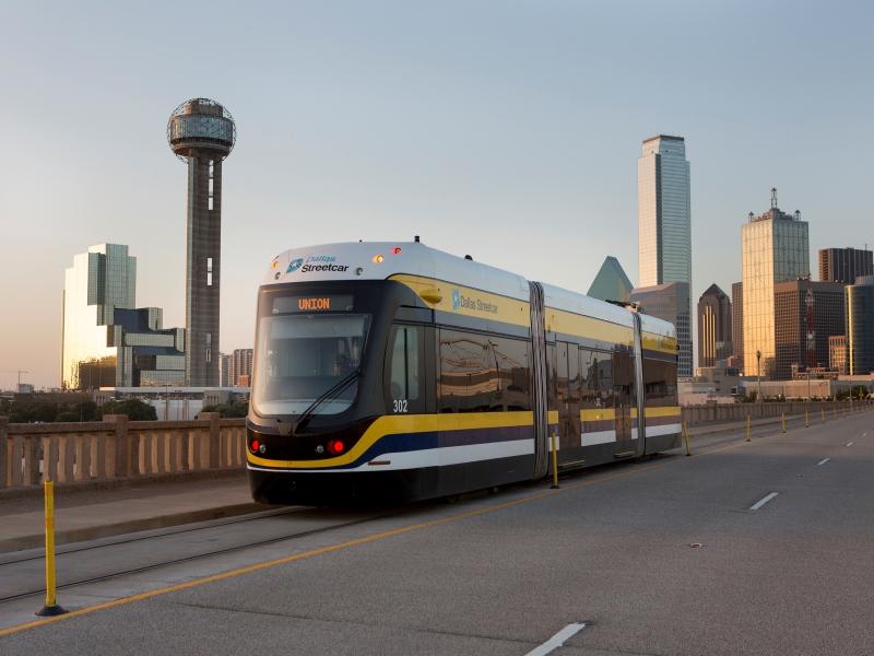 Dallas Streetcar. Фото: Railway Gazette