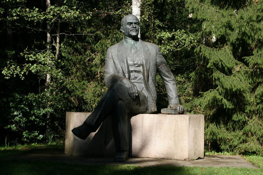 Памятник Ленину в Парке Грутас в Литве. Фото: thinglink.com