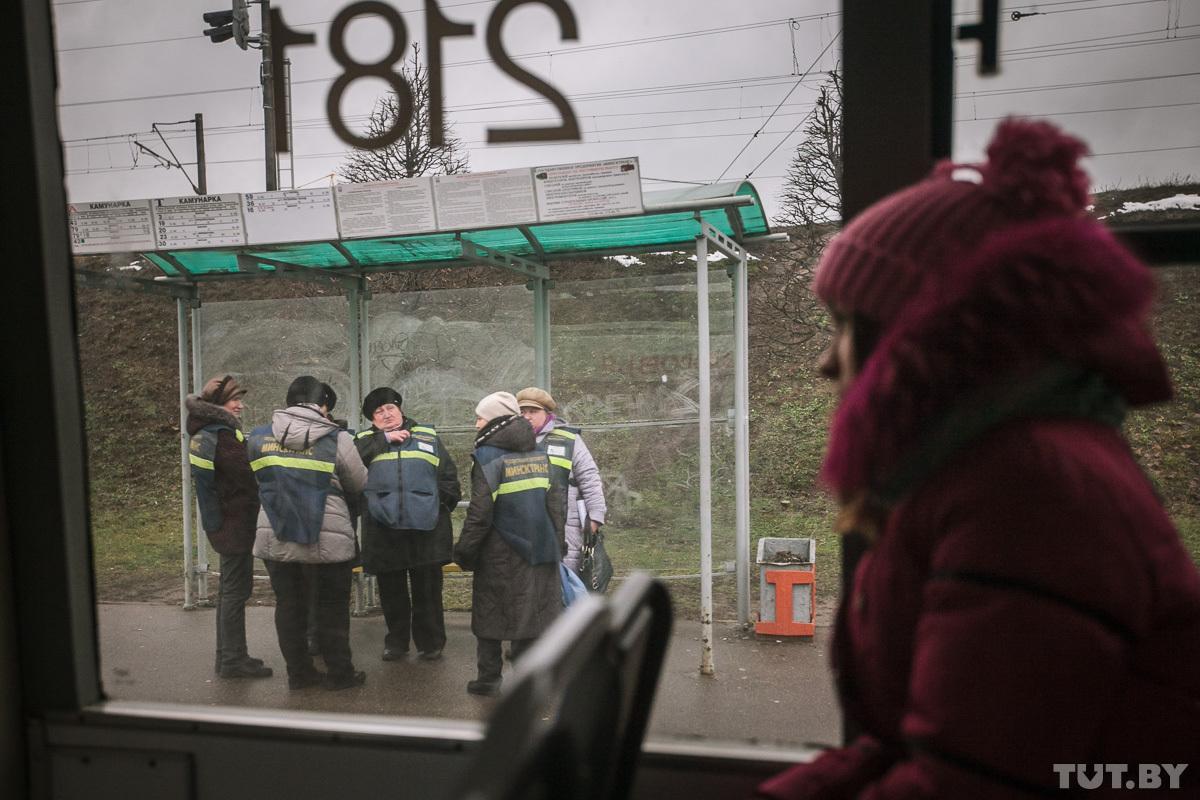 Контролёры в Минске. Фото: Александр Васюкович / TUT.BY