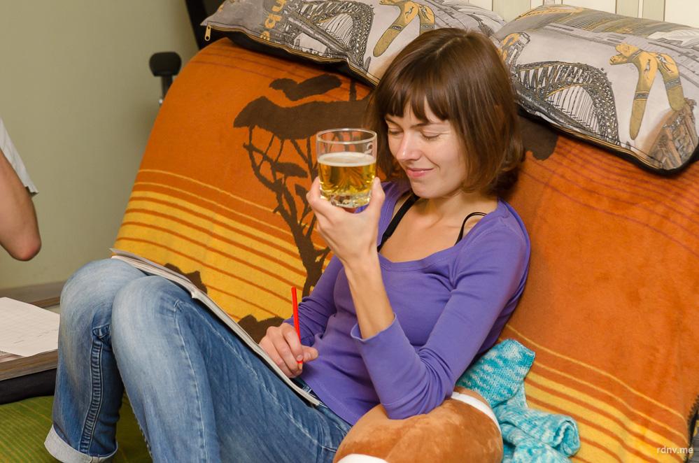 Переводчик Юлия любит стауты и пиво траппистов и считает, что все лагеры одинаковые