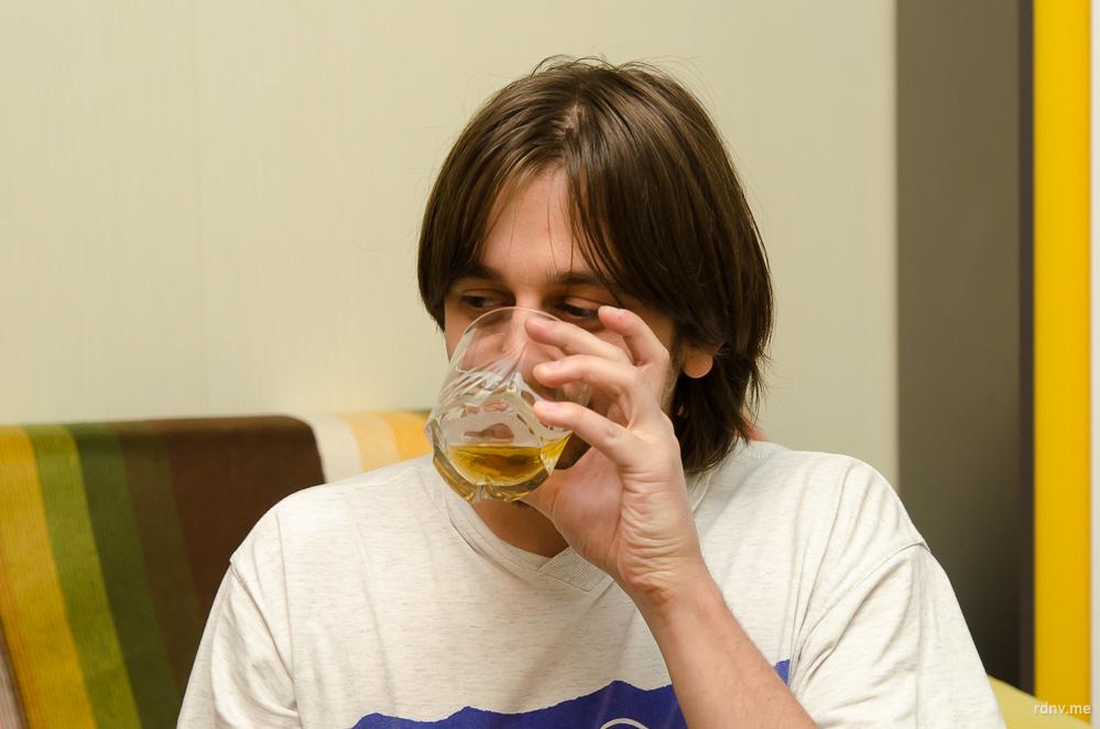 Картограф Сергей, единственный из участников, кто пользуется Untappd, любит лагеры, но с большим интересом относится к крафтовым новинкам. Больше всего ему нравится сорта пивоварни «Бакунин», например, Red Maniac