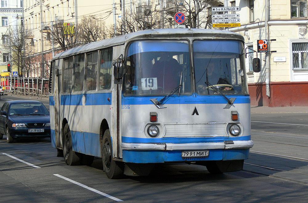 ЛАЗ-695 в Минске. Скорость движения в городе не изменилась за последний 30 лет…