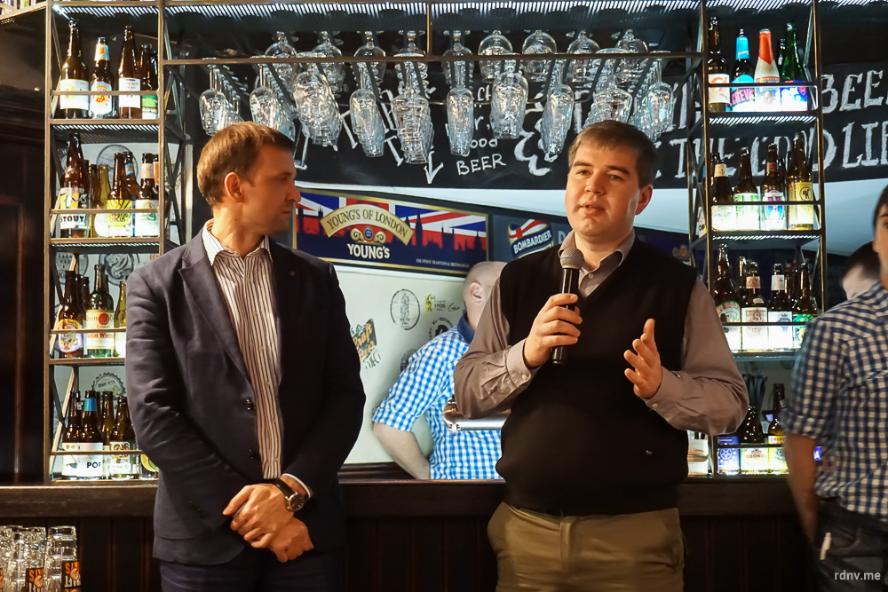 Главный пивовар «Друзей» Денис Буевич рассказывает о новом пиве
