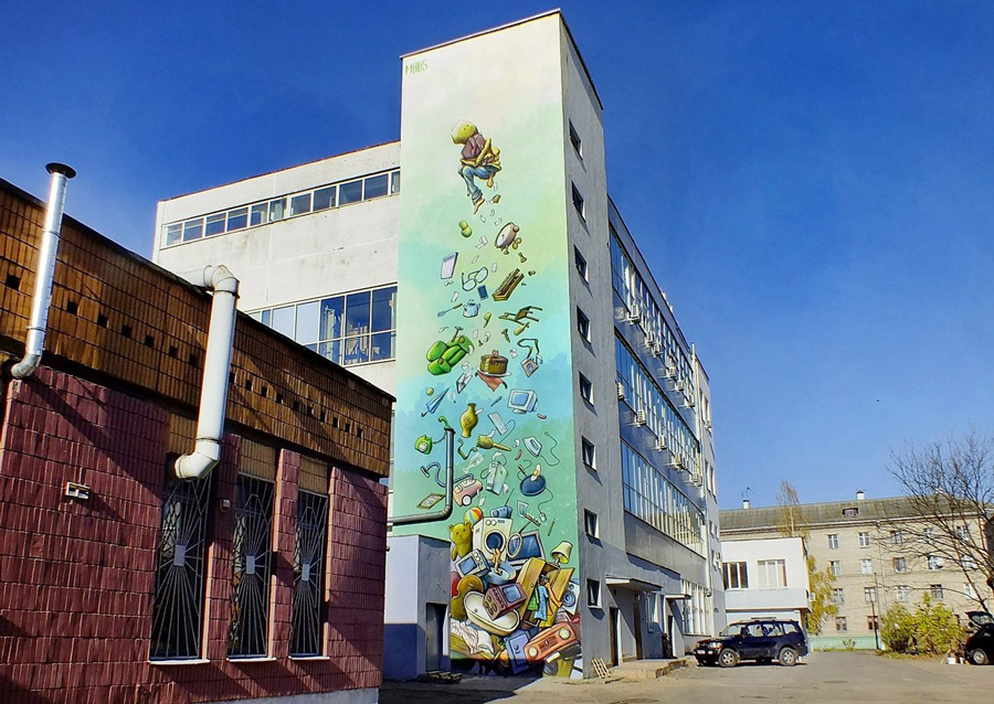 Адрес: ул. Фабричная, 22. Автор: Евгений Сосюра (Mutus). Фото: evna.by