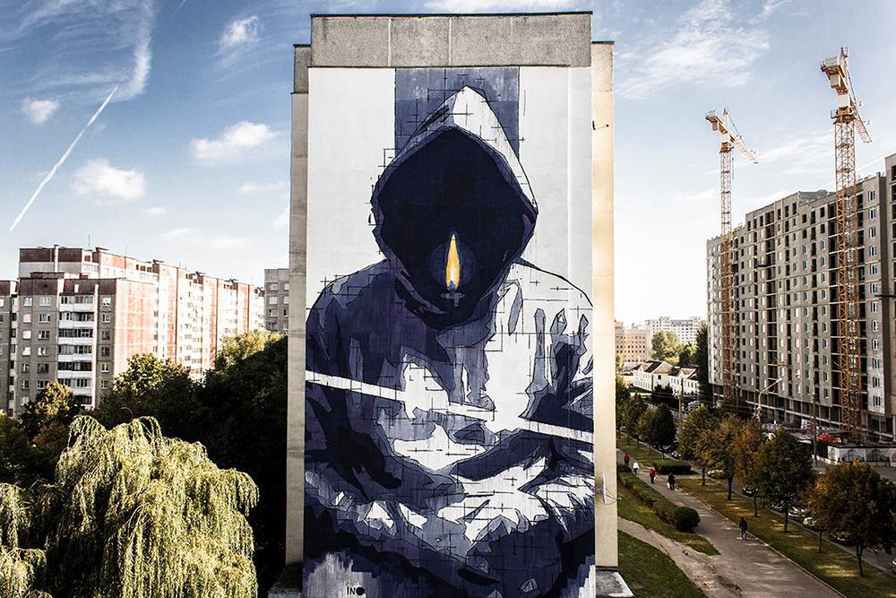 Адрес: ул. Воронянского, 13/1. Автор: iNO.