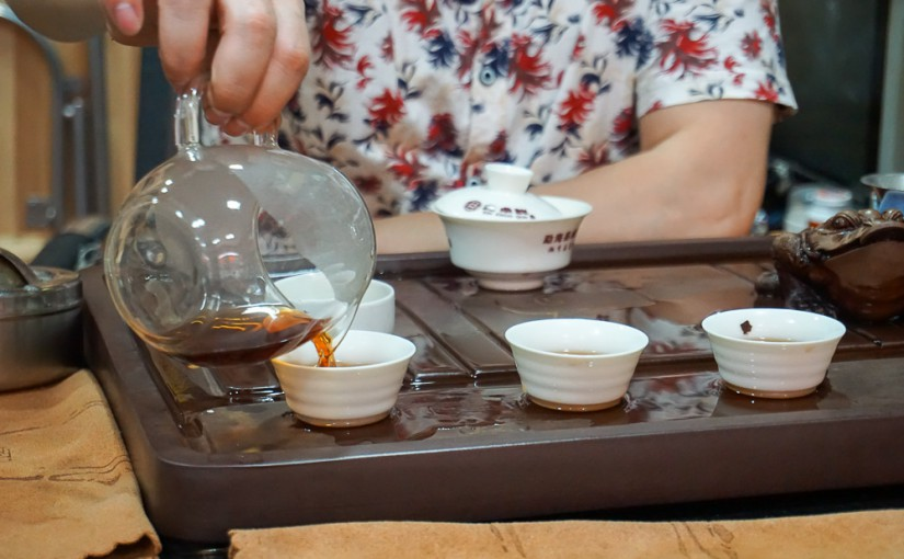 Как пьют чай в Китае