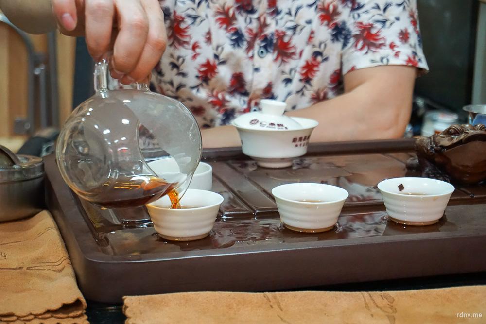 Как китайцы пьют чай