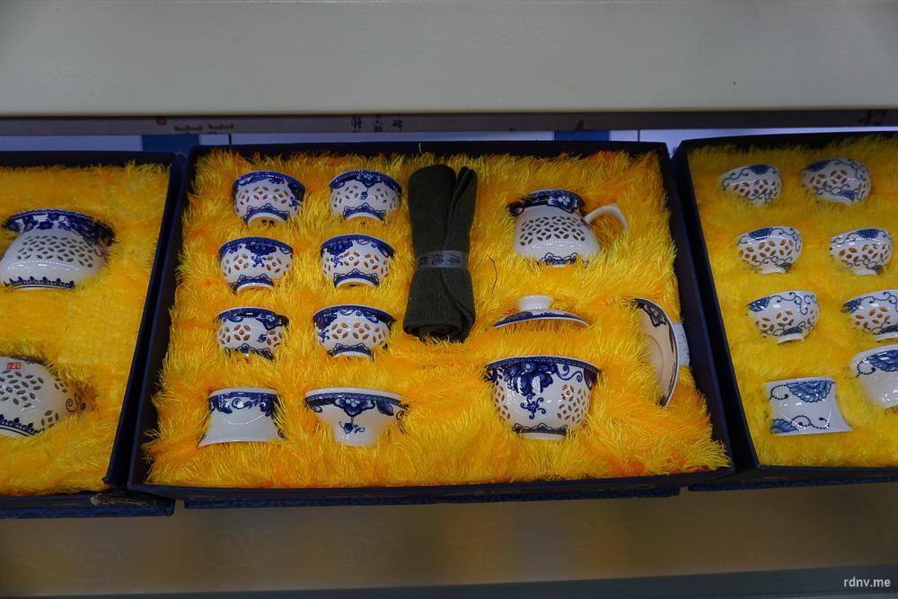 Сервиз для чайной церемонии: гайвань, чахай, пиалочки