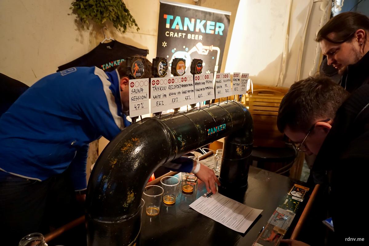 Эстонская пивоварня Tanker —  главное открытие фестиваля