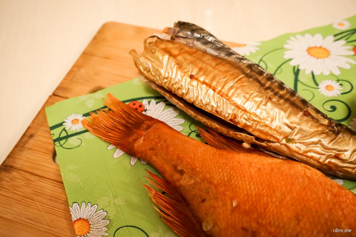 Мягкая и совершенно нежирная рыба горячего копчения может быть полноценным блюдом под любой хороший эль