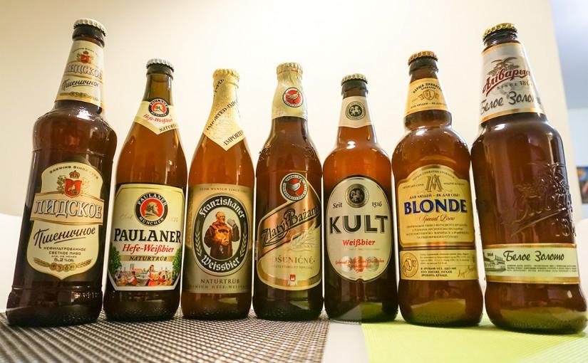 Слепая дегустация пшеничного пива: Kult лучше Paulaner
