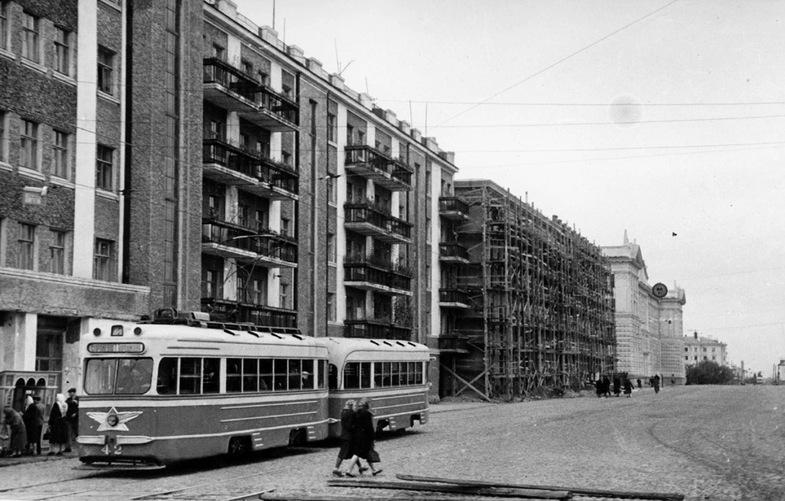 1954-й, улица Горького, район Суворовского училища