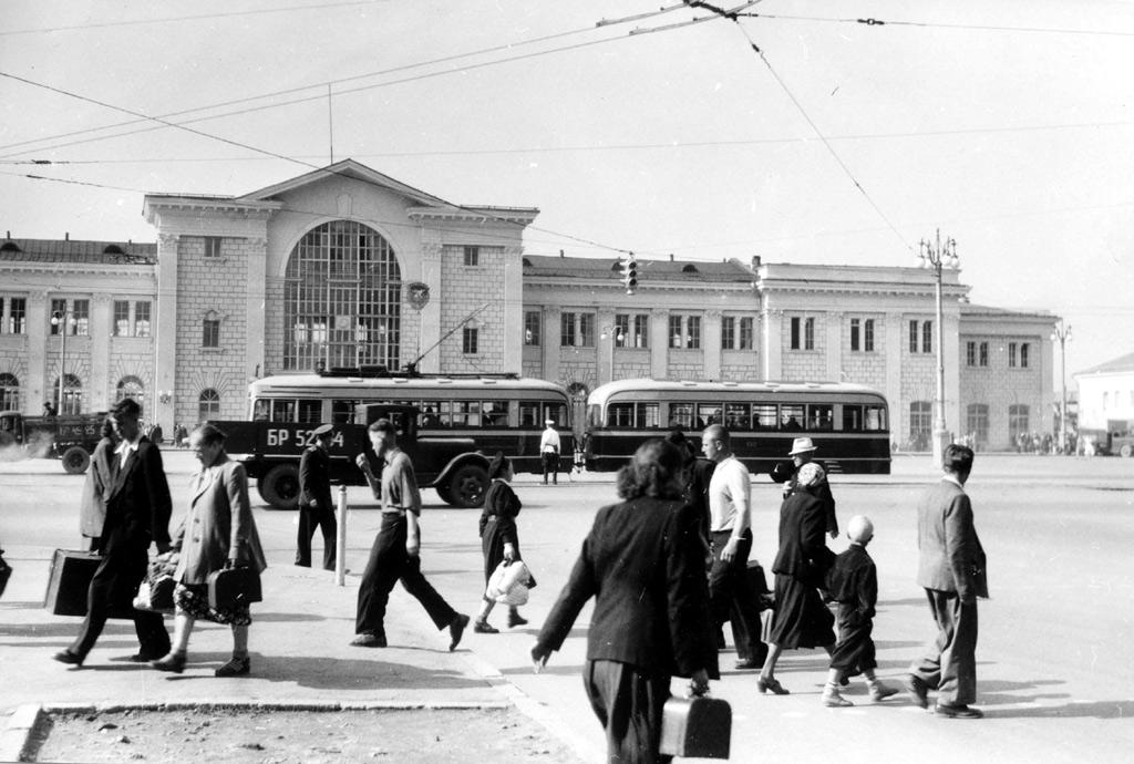 Минский трамвай в 50-х годах