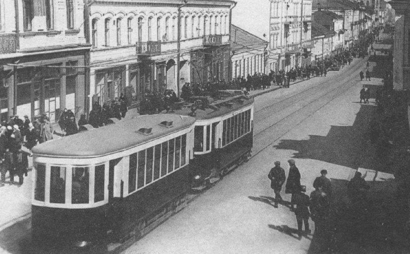 Минский трамвай на старых фотографиях